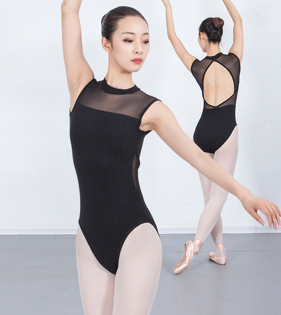 ثياب باليه للبالغين 2020 أنيق وياقة عالية زي للرقص للنساء ملابس رقص للرقص والجمباز