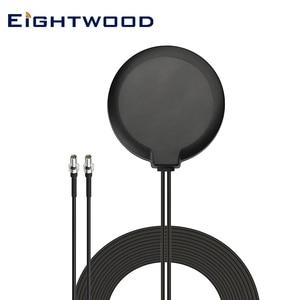 Eightwood 4G LTE магнитное крепление MIMO TS9 Мужская антенна для Hotspot роутера AT&T ZTE Netgear LB1120 Nighthawk M1 MR1100 Unite 770S