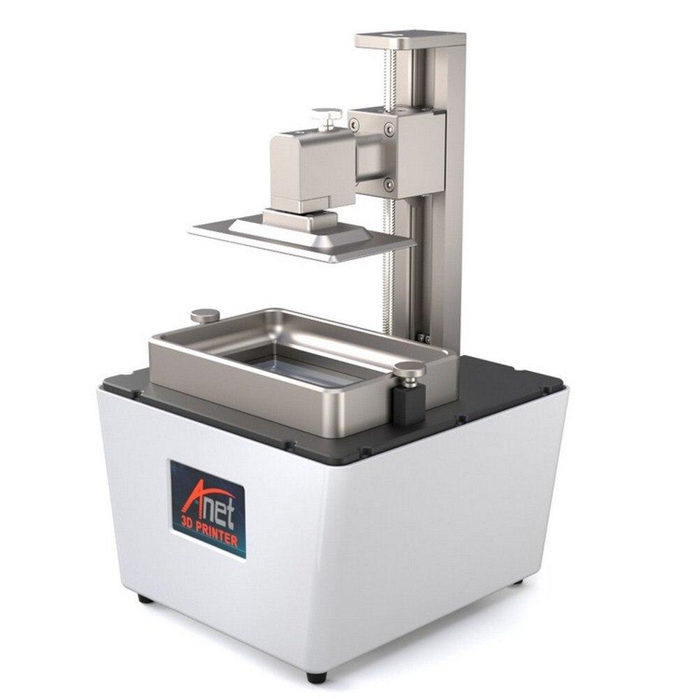 Anet N4 haute précision 3D imprimante Kit 3D imprimante LCD écran trancheuse photopolymérisation Impresora éclairage bureau durcissement résine 3D imprimante