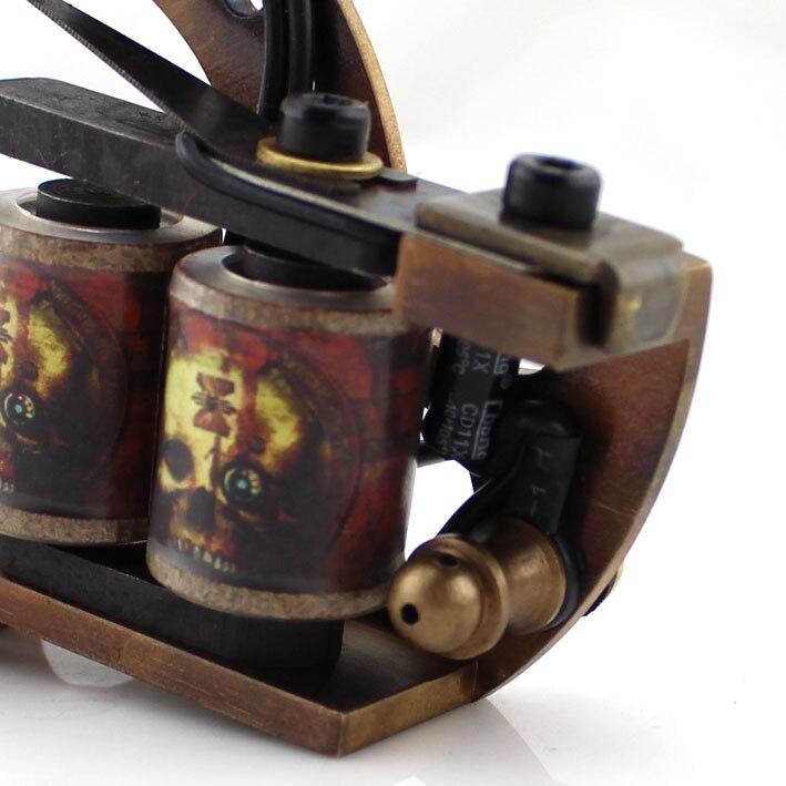 La Machine professionnelle de tatouage de cuivre d'ambition enroule le pistolet de tatouage d'enveloppe du Shader 12 de revêtement de cadre