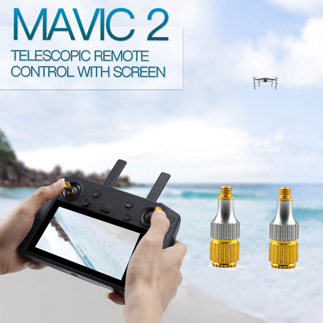 Inteligentny kontroler dżojstik na kciuk Mavic Air 2 nadajnik Joystick dla DJI Mavic Mini 2 pilot z uchwytem ekranu Rod Stick