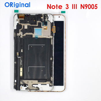 Original AMOLED Screen For Samsung Galaxy Note 3 LTE N9005 Lcd Display Touch panel Digitizer with bezel Frame assembly original amoled screen for samsung galaxy note 3 lte n9005 lcd display touch panel digitizer with bezel frame assembly