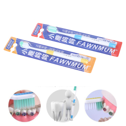 Soft Toothbrush U/L Shaped Mini Head Brush Bristle Clean Orthodontic Braces Adult Toothbrushes Orthodontic Dental Tooth Brush
