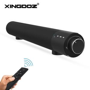 Image 1 - Soundbar Wired and Wireless Bluetooth 4.2 Speaker for TV,soundbar with subwoofer Wireless Bluetooth Sound Bar For TV laptop