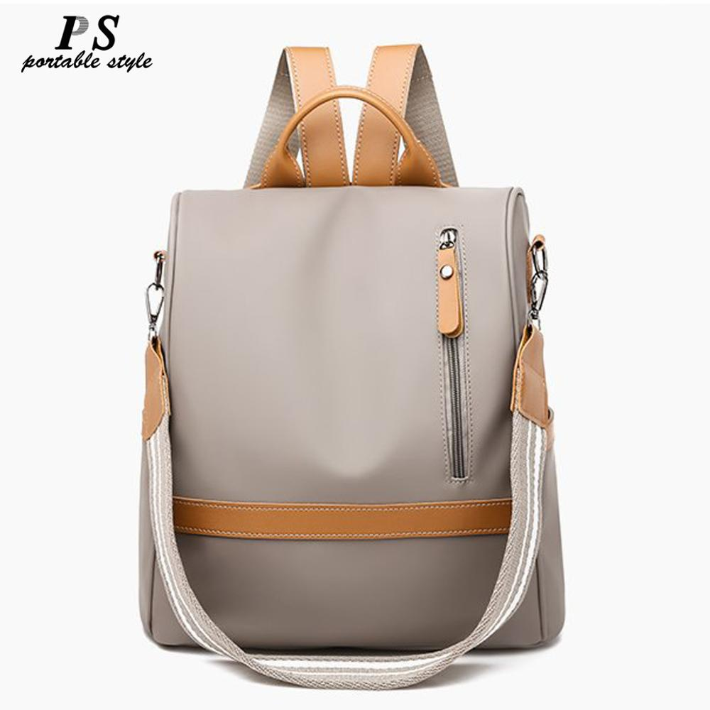 Anti-theft Women Backpacks Ladies Large Capacity Backpack High Quality Bagpack Waterproof Oxford Women Backpack Sac A Dos