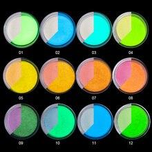 Extension Decor-Powder Glow-In-Dark Nail-Tip Glitter 10ml-Jar 1box