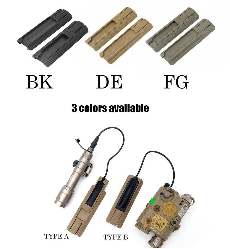 DBAL laser weaponlighTail Remoto Painel de Proteção