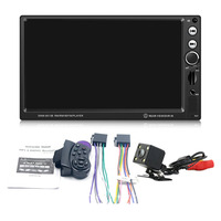 7 Inch MP5 Player Camera Large Display Screen Car DVD Vehicle Audio Video Player Support Brake Prompt Bluetooth Mini TF Card
