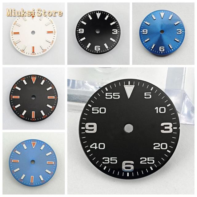 Bliger sterile 29 มม.นาฬิกา dial Fit ETA 2824/2836,Mingzhu DG 2813/3804, miyota 8205/8215/821A/82 Series การเคลื่อนไหว