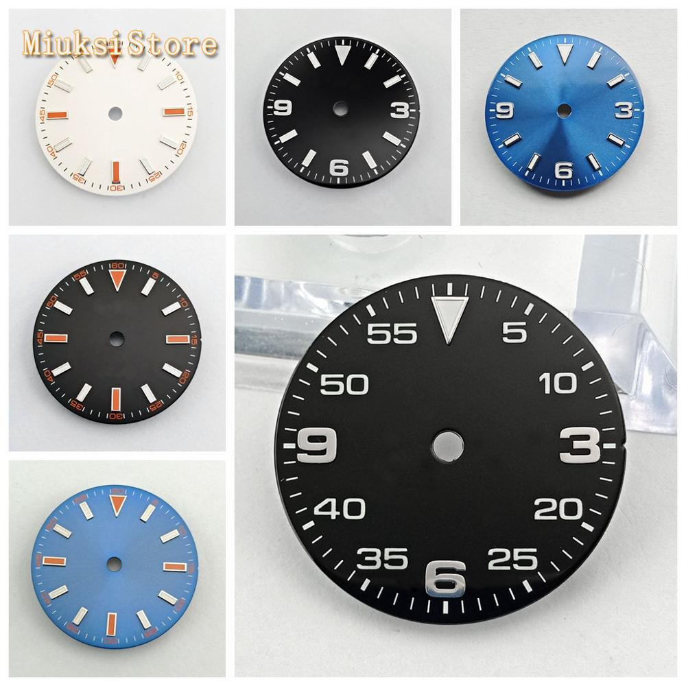 Bliger Sterile 29mm Luminous Watch Dial Fit ETA 2824/2836,Mingzhu DG 2813/3804,Miyota 8205/8215/821A/82 Series Movement