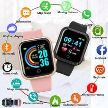 2020 apple relógios inteligentes das mulheres dos homens bluetooth smartwatch pressão arterial monitor de frequência cardíaca pulseira de fitness esportiva para apple android