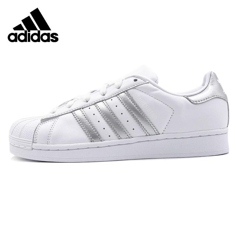 Original Adidas SUPERSTAR W Womens Skateboarding Shoes Sneakers Outdoors Sports