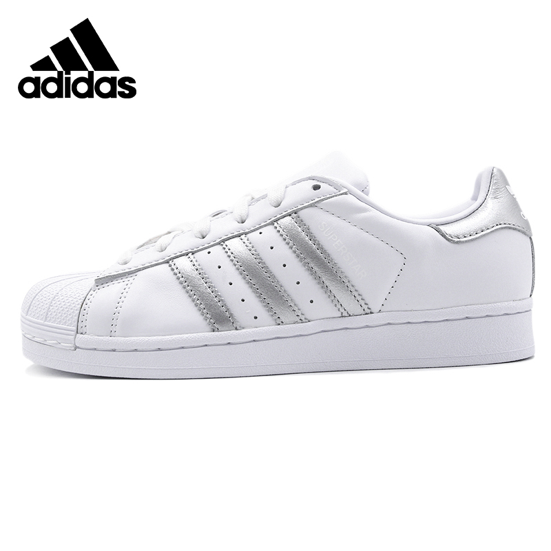 Original Adidas SUPERSTAR W Womens Skateboarding Shoes Sneakers Outdoors Sports image