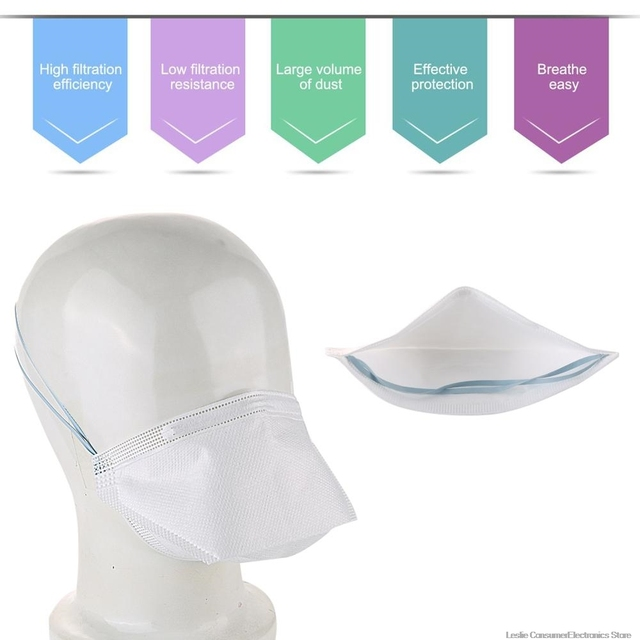 Haif-mask respirator new N95 KN95 FFP2 MASK ,anti dust and protective mask, prevent flu mask,N95. 2