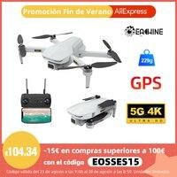 Eachine EX5 Drone 229g RC Quadcopter 4K GPS HD Mini cámara Profesional con 5G WIFI 1000 metros de distancia FPV Drone portátil Dron