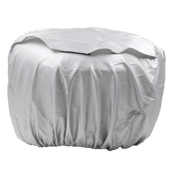 Zewnętrzna pokrywa generatora do Honda EU2000i EU2200i sprzęt elektryczny 08P57-Z07-00S zewnętrzny sprzęt elektryczny do przechowywania tanie i dobre opinie 0 14kg against dust debris rain 12cm XL-OIL-OC-SI Generator cover 18cm polyester fabric construction with a PVC coating
