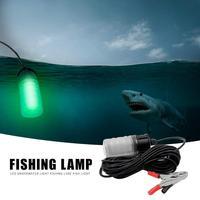 117LED Luz CONDUZIU a Lâmpada de Pesca Peixe Encontrar Sistema de Armadilha Lâmpada de Luz À Prova D' Água Debaixo D' Água Luz Verde Luzes de Pesca Atrai