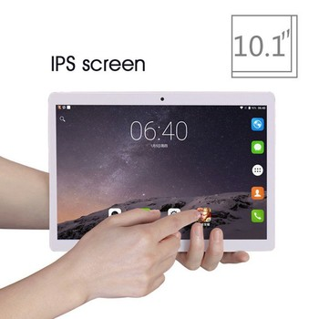 2020 New 10 inch 4G LTE Tablet PC Octa Core 6GB RAM 128GB ROM 1280*800 IPS Tempered Glass 10.1 Tablets Android 8.0 Mobile phone