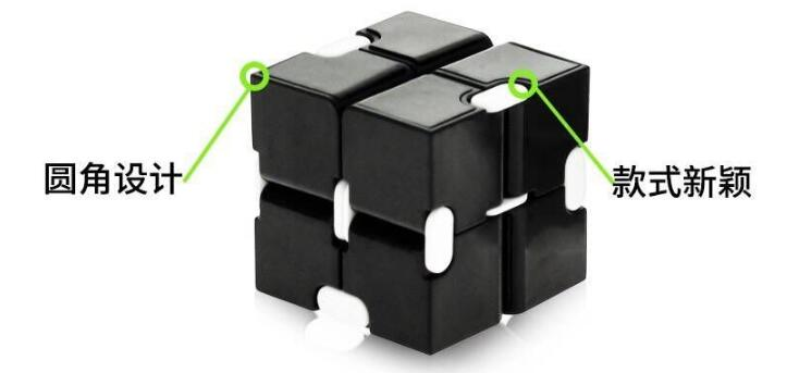 Cube-Toys Infinity-Cube Metal Anxiety Relief EDC Magical Aluminium for Deformation Premium img2