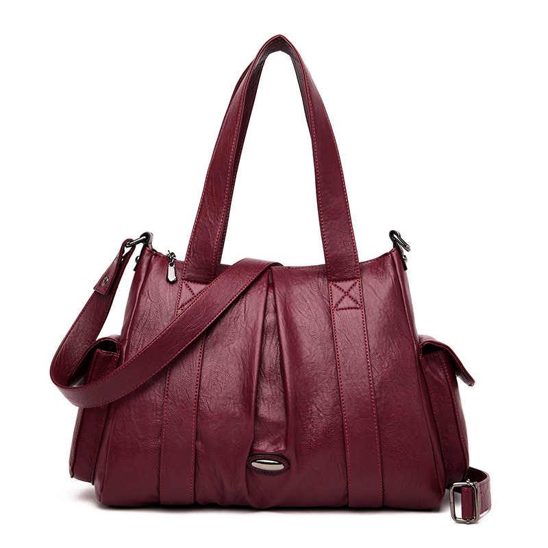 Women Genuine Leather Handbags Tote Soft Crossbody Shoulder Bags  for Women Large Capacity Luxury Handbags Women Bags DesignerShoulder  Bags