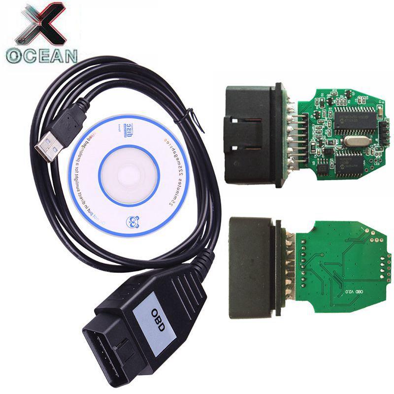 Para ford vcm obd scanner de diagnóstico do carro para ford vcm obd para focom obd2 diagnóstico cabo dispositivo profissional para ford/para mazda