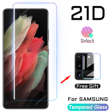 Для самсунга закаленное стекло экрана протектор Примечание 20 S20 S21 ультра S10 S9 S8 Plus протектор экрана из закаленного стекла с 21 10 9 8 S10E плюс FE ...