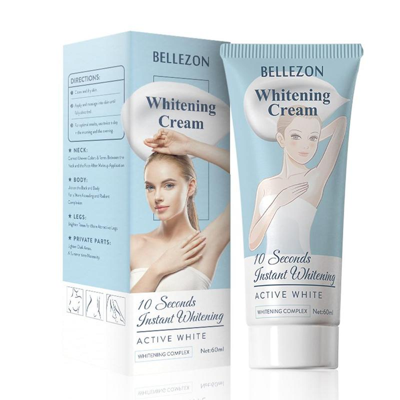60ml Body Whitening Cream For Sensitive Area Armpit Legs Knees