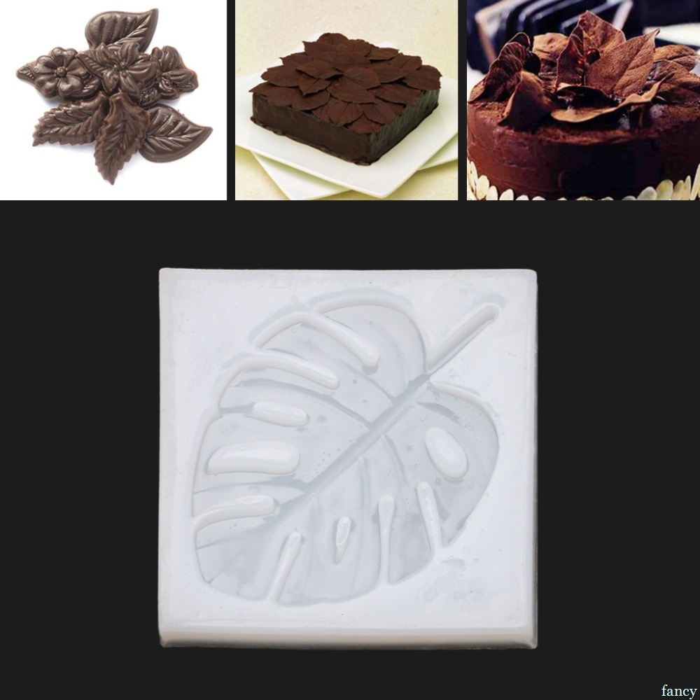 NewTropical Palm Leaves DIY Silicone Mould Epoxy Resin Mold For Jewelry Making New