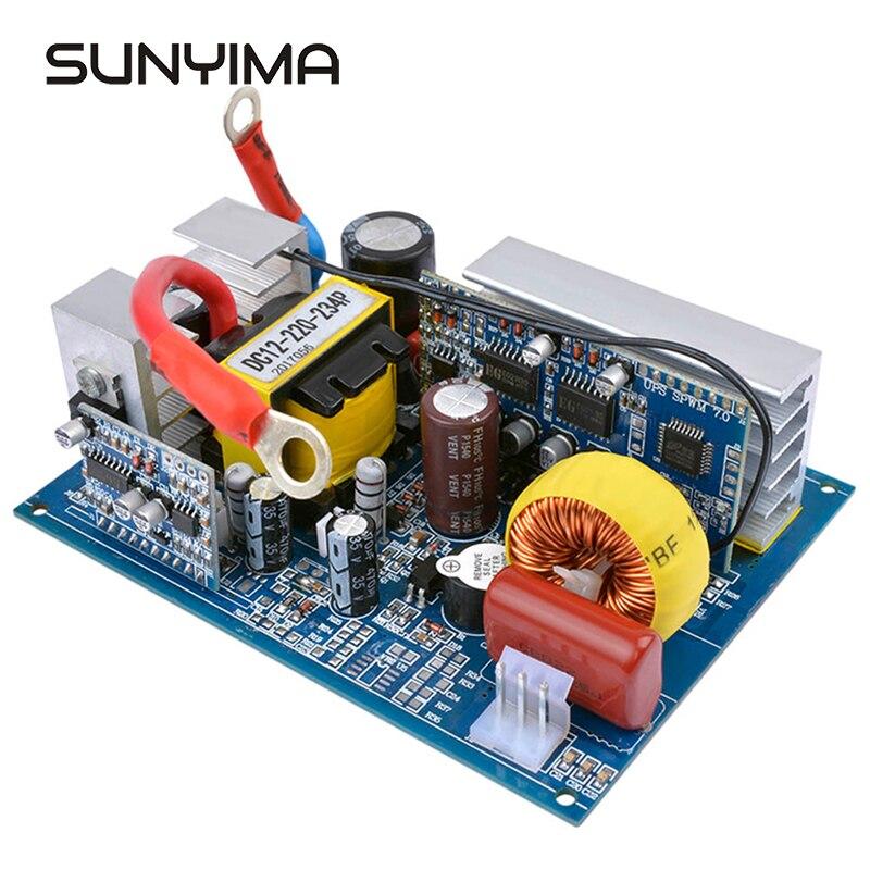 SUNYIMA 1Pc Inverter 12V 220V Konverter Reine Sinus Welle Power Inverter DC Zu AC 300W 500W 600W Board Für Fahrzeug Haushalt DIY