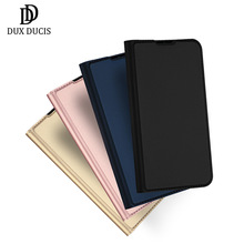dux ducis skin pro origami smart leather stand case for ipad pro 12 9 2017 Dux Ducis Skin Touch Pu Leather Case For Samsung Galaxy S20/ Ultra/ Plus Luxury Slim Card Slot Wallet Stand Flip Cover Case Bags
