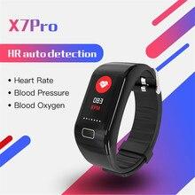 Intelligent Bracelet 2019 Multifunctional smart watch Heart Rate and Blood Pressure Monitoring Waterproof Motion Meter Walking