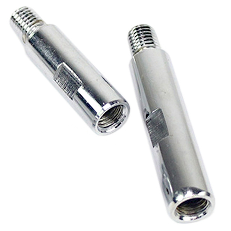 2 Pcs 125 Polishing Machine Angle Grinder Extension Rod M14 Adapter Rod Polishing Beauty Polishing Tool, 75Mm & 100Mm