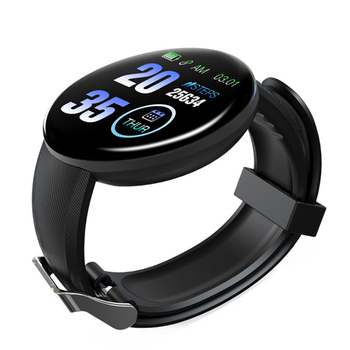AmylingG D18 Smart i Watch Men Full Touch Fitness Tracker Blood Pressure Smart Clock Women GTS Smartwatch for Xiaomi image