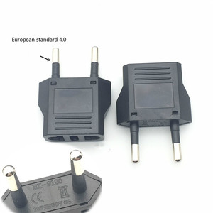 US To EU Plug Mini Adapter American To Euro Europe European Travel Power Adapter AC Converter Electrical Outlet Socket(China)