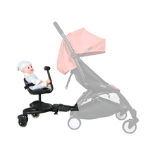 Universal Baby Strollers Accessories Pedal Second Child Standing Plate Rear Hanging Trailer Buggy Board For 2 5 Year Old Kids