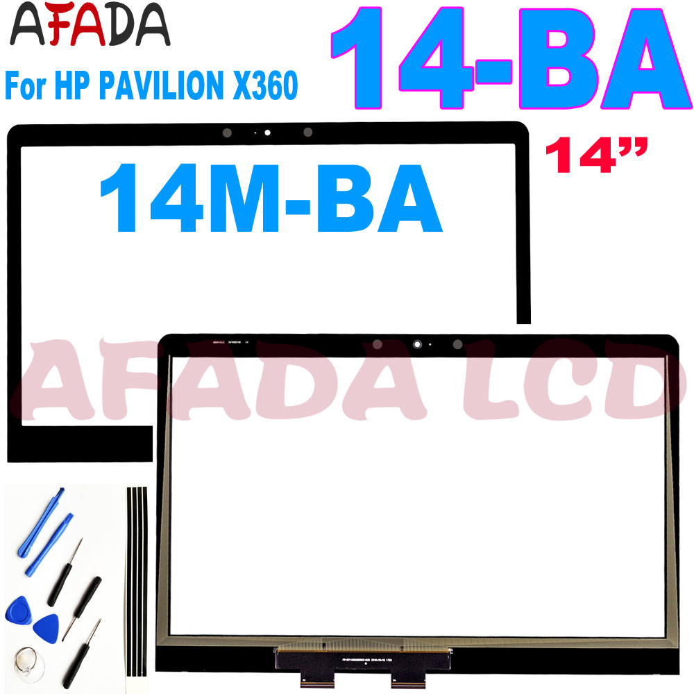 <font><b>14</b></font>.0'' <font><b>Touch</b></font> Digitizer Replacement for HP PAVILION X360 14M-BA <font><b>14</b></font>-ba Series <font><b>Touch</b></font> <font><b>Screen</b></font> Panel not LCD image