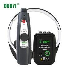 DUOYI DY26 Mini ultrasonik kusur dedektörleri gaz el taşınabilir vakum sızdırmazlık kaçak test cihazı konumu belirlemek kaçak test cihazı