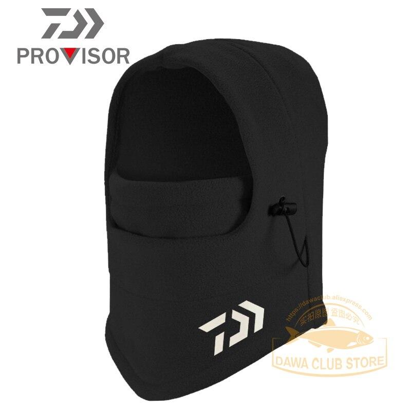 2020 Daiwa Winter Fishing Hats Multifunctional Outdoor Bicycle Headwear Magic Fishing Hat Bib Winter Ski Windproof Warm Headgear|Fishing Caps| |  - title=