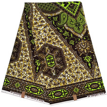 Nigeria Ankara wrapper Dutch veritable wax African Wax Prints Fabric 100% cotton nice dutch ankara veritable wax african wax print fabric nigeria fabric wrapper 100