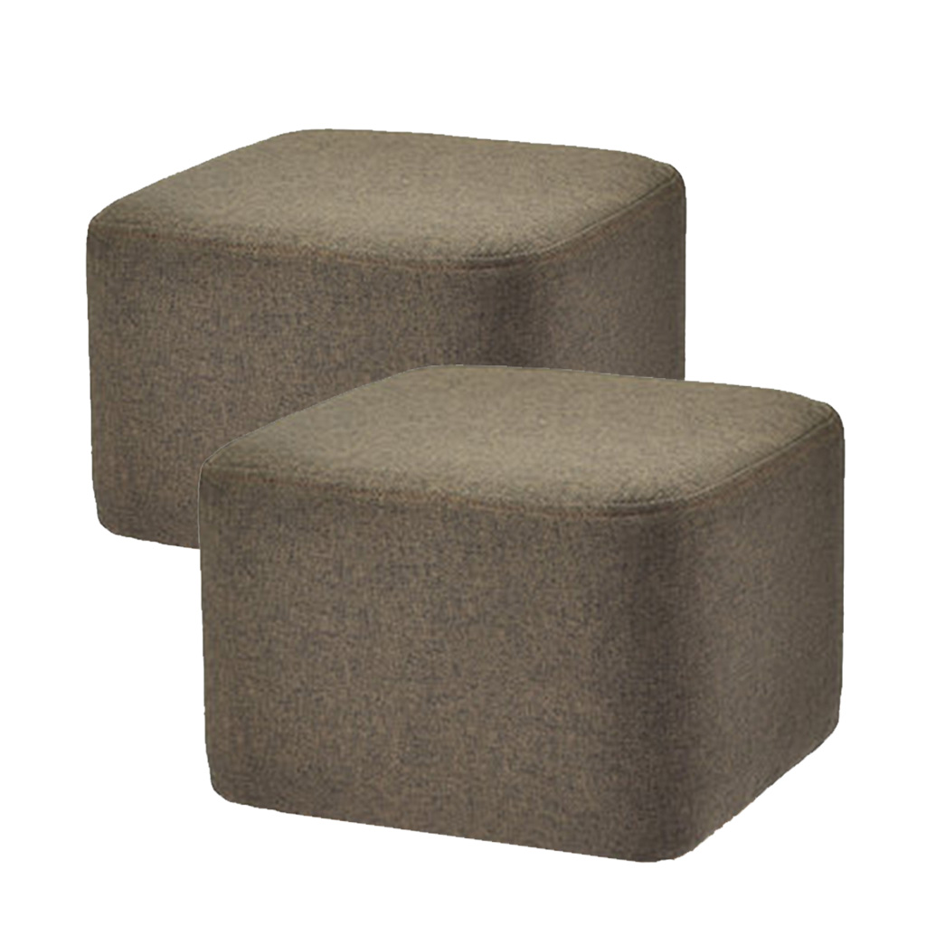Set Of 2 Pieces Square Wooden Bar Stool Cushion Cover Slipcover Cotton Linen Super Breathable Footstool Cover For Home Decor Chair Cover Aliexpress