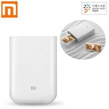 Originele Xiaomi AR Printer 300dpi Draagbare Foto Mini Pocket Met DIY Delen 500mAh Foto Printer Pocket Werken Met mijia APP
