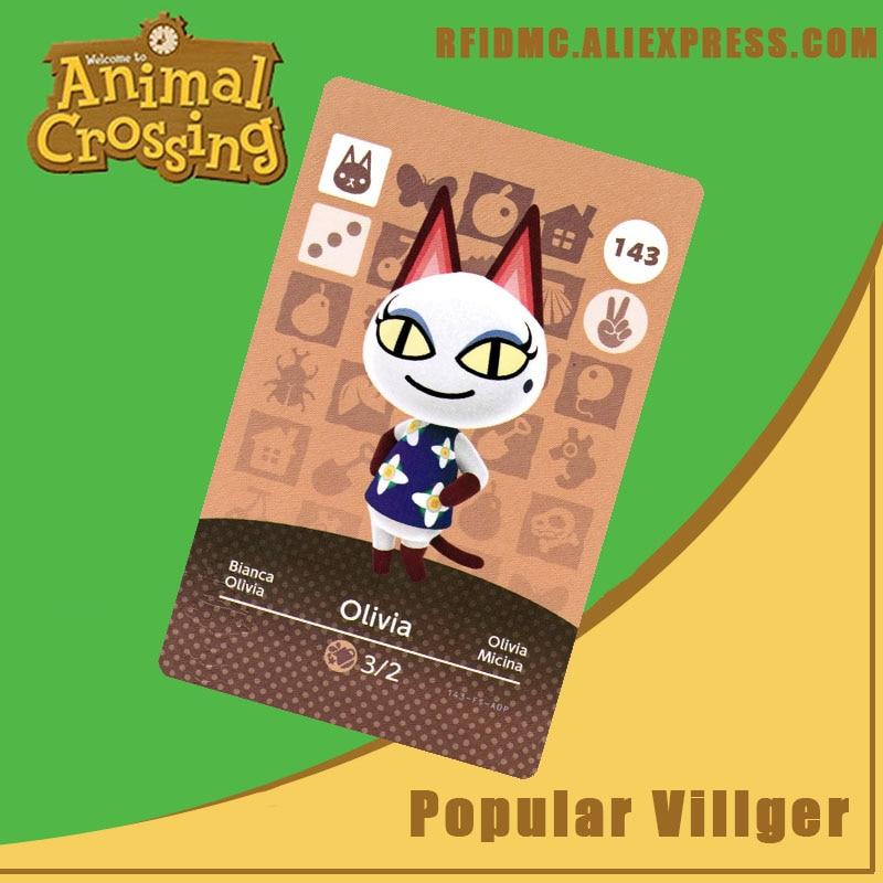 143 Olivia Animal Crossing Card Amiibo For New Horizons