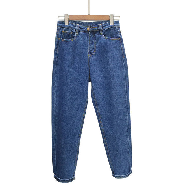 Jeans Women Spring Summer Trendy Korean Style Simple All-match Kawaii Harajuku Streetwear High Quality Ulzzang Womens Trousers 2