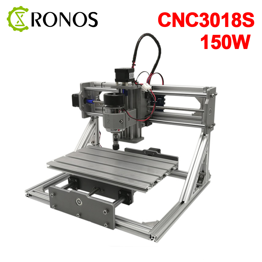 CNC 3018 Upgrade ER11 150W DIY CNC Router Machine ,Pcb Milling Machine,Wood Router,GRBL Control,Carved On Metal
