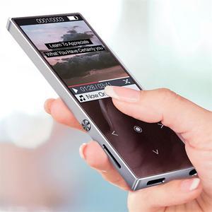 Image 5 - Bluetooth4.2 MP3 נגן 16GB מגע מפתח 1.8 אינץ צבע מסך מוסיקת Lossless תמיכת FM, הקלטה, תמיכת SD עד 128GB