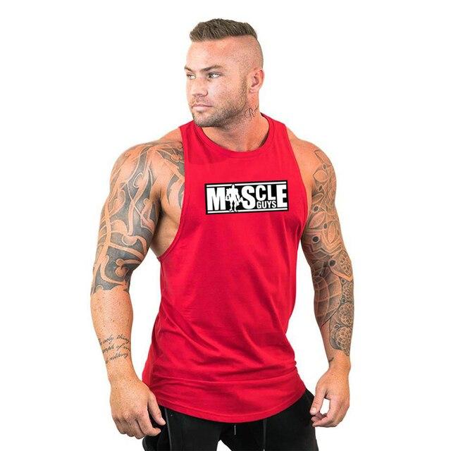 Gym King Stringer Tank Top Bodybuilding Herren Achselshirt Tanktop MUSKELSHIRT