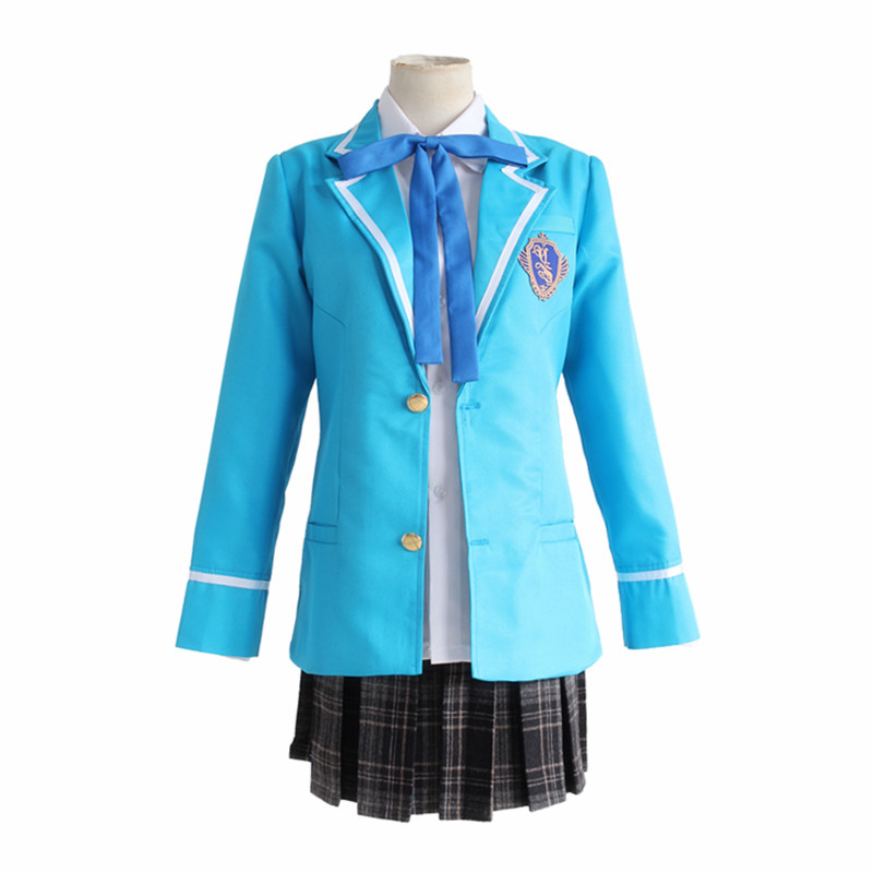 Ensemble de jeu étoiles Cosplay Costumes Hidaka Hokuto Cosplay Costume uniforme Halloween carnaval fête Anime Cosplay Costume