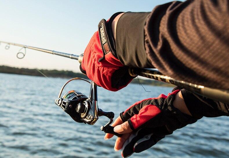 9bb roda superior para a pesca de