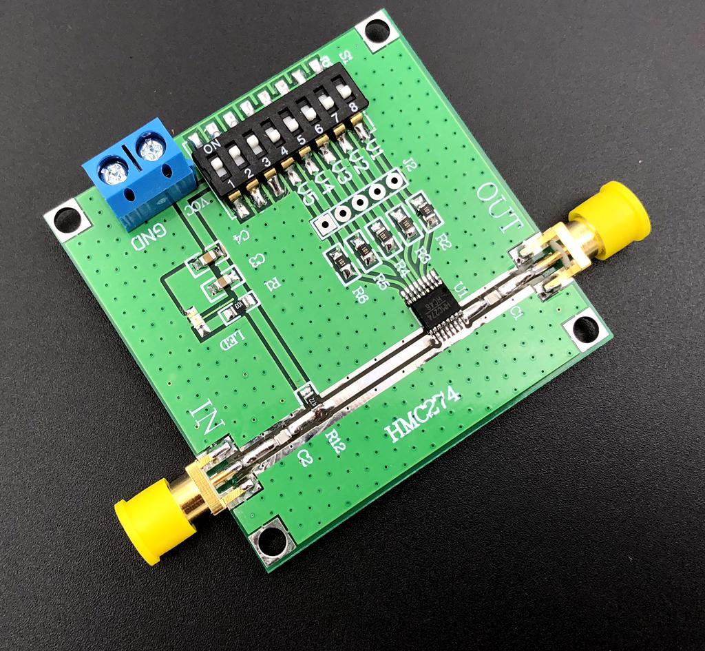 HMC274 ЧПУ аттенюатор 0,7-2,7 GHZ RF аттенюатор амплитуда контроллер