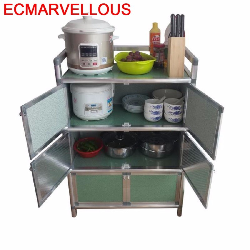 Console Tables Tea Cabinet Aparador Comedores Mueble Cocina Aluminum Alloy Cupboard Kitchen Furniture Meuble Buffet Sideboard